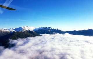 Corse Hélicoptère - Au-dessus des nuages...