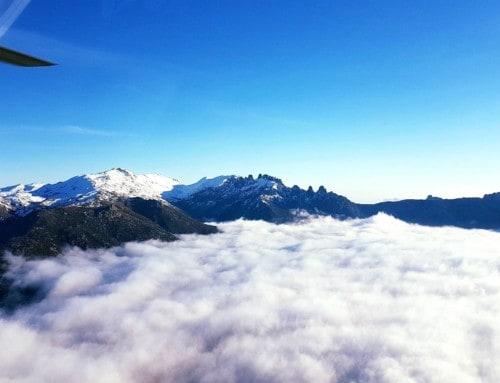 Corse Hélicoptère – Au-dessus des nuages…