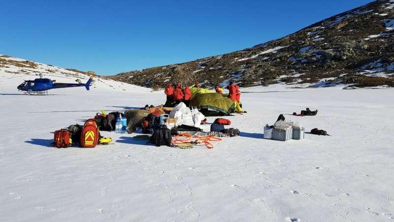 Campagne d'études des lacs de montagne en Corse