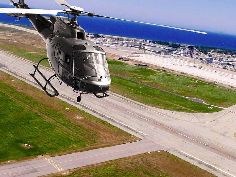Trasporto passeggeri in elicottero