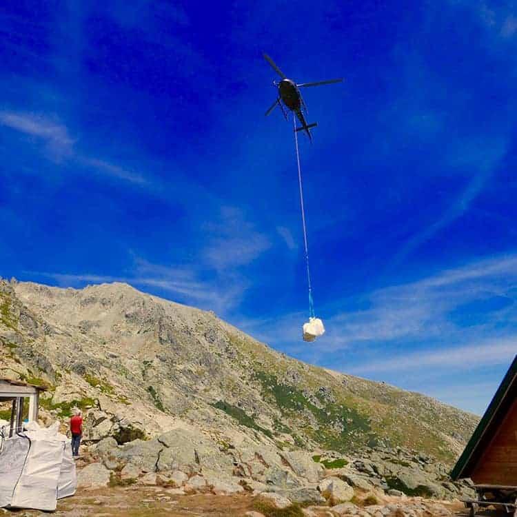 Corse Hélicoptère - Travail aérien en Hélicoptère