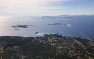 Vol en Hélicoptère direction Cavallo